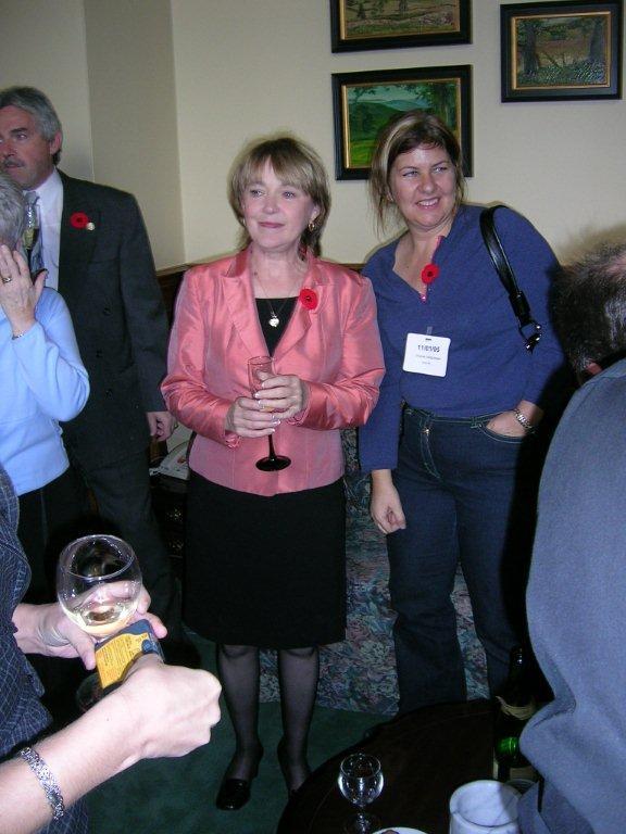 Marilyn Churley Nov 1 05 after Bill 183 passed