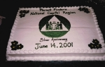 25th Anniversary Cake June 2001