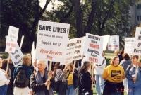 Oct 8 2002 Bill 77 Protest (2)